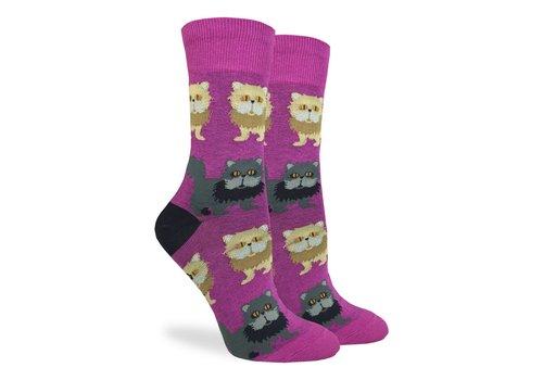 Good Luck Sock Women's Persian Cat Socks