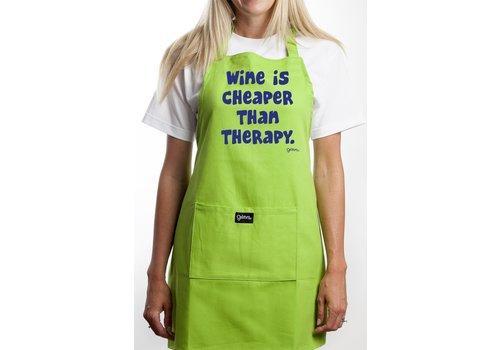 Apron Wine Cheaper than Therapy