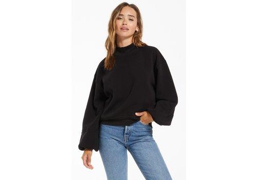 Z Supply Skylar Mock Neck Pullover