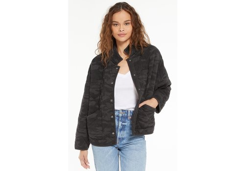 Z Supply Camo Maya Quilted Jacket