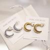 Park & Buzz Croissant Midi Earrings