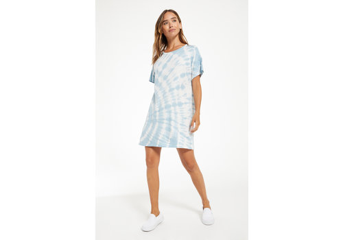 Z Supply Launa Spiral Tie Dye Dress