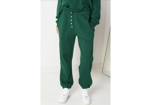 Daisy Street Megan Button Up Joggers