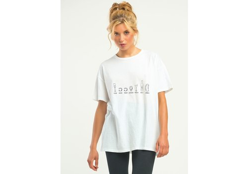 Dex Graphic Drinks Tee