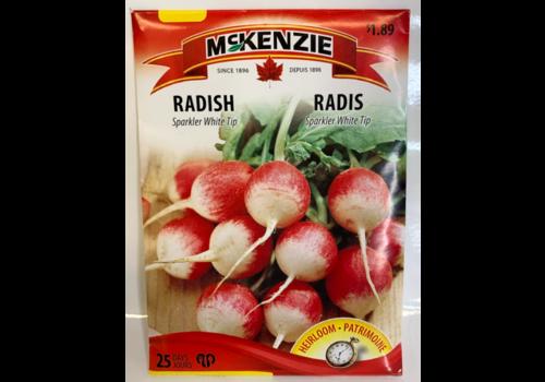 McKenzie Radish Sparkler White Tip