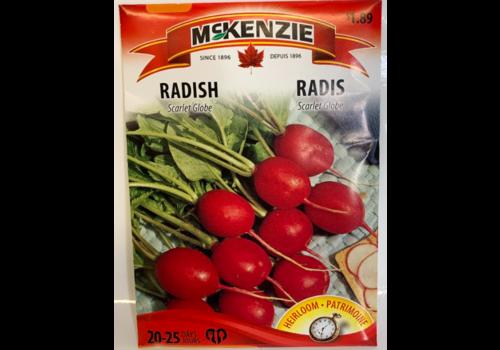 McKenzie Radish Scarlet Globe