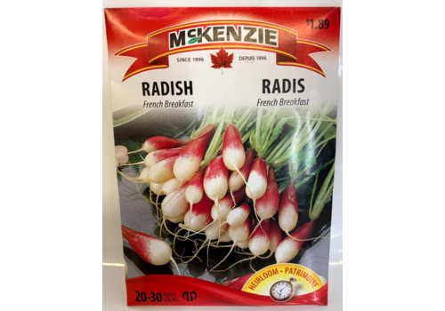 McKenzie Radish French Breakfast