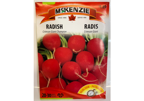 McKenzie Radish Crimson Giant Champion