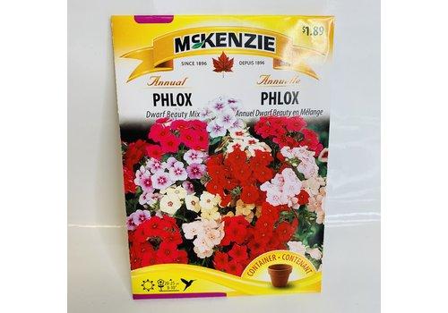 McKenzie Phlox Dwarf Beauty Mix