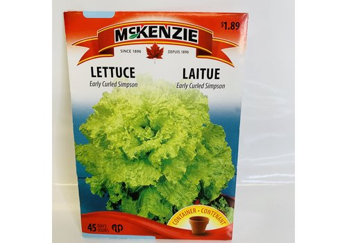 McKenzie Lettuce Early Curled Simpson
