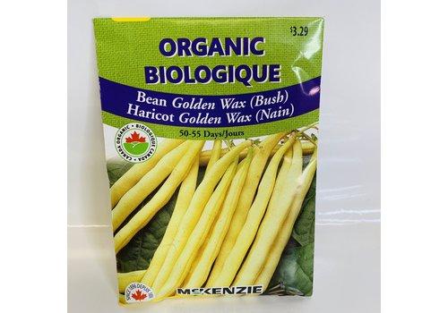 McKenzie Bean Golden Wax (B) Organic