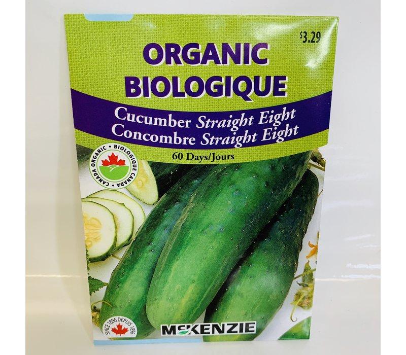 Cucumber Straight Eight Organic