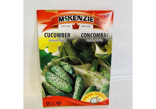 McKenzie Cucumber National Pickling
