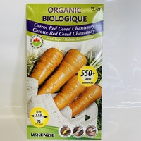 Carrot Red Cored Chantenay ST