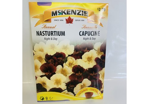 McKenzie Nasturtium Night & Day