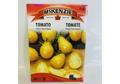 McKenzie Tomato Yellow Pearshaped