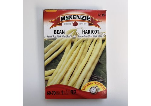 McKenzie Bean Pencil Pod Black Wax (B)
