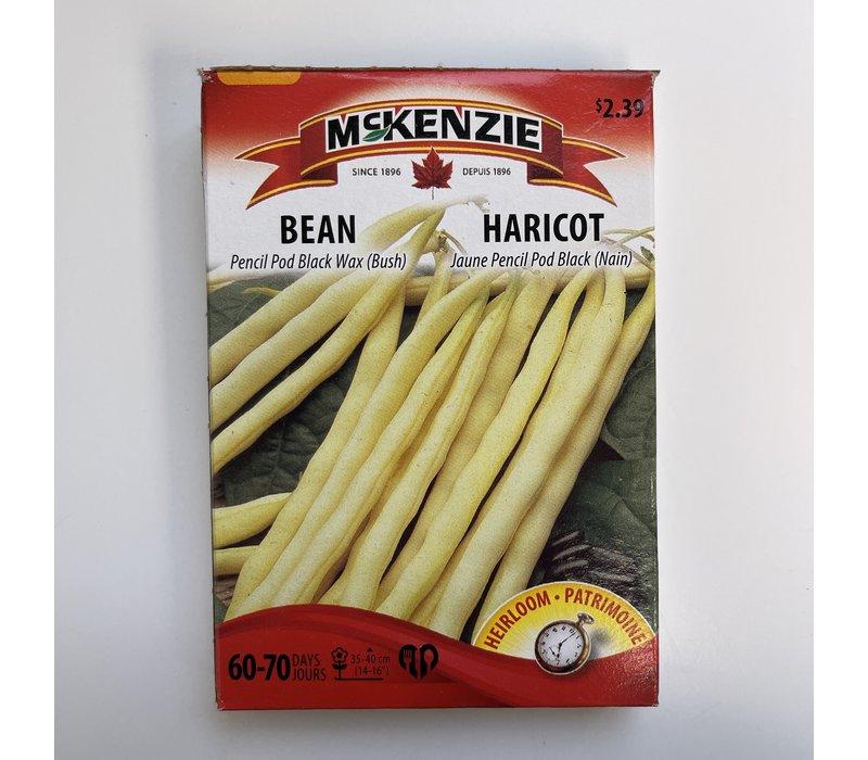 Bean Pencil Pod Black Wax (B)
