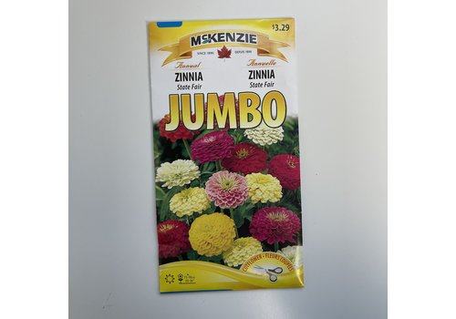 McKenzie Zinnia Tetra Flowered J