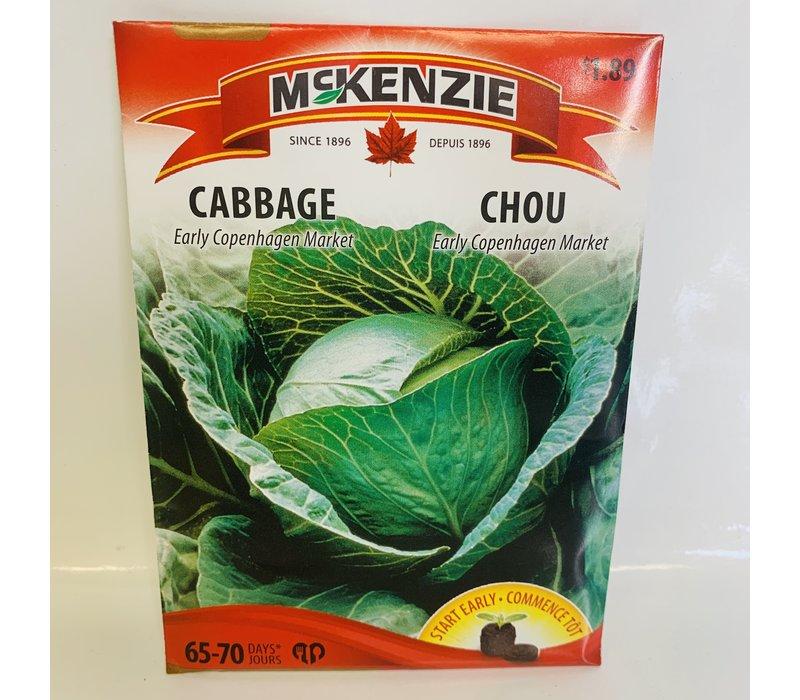 Cabbage Early Copenhagen Mkt