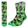 Good Luck Sock Men's Rick and Morty Wormholes Socks