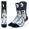Good Luck Sock Men's Apollo Astronaut Socks