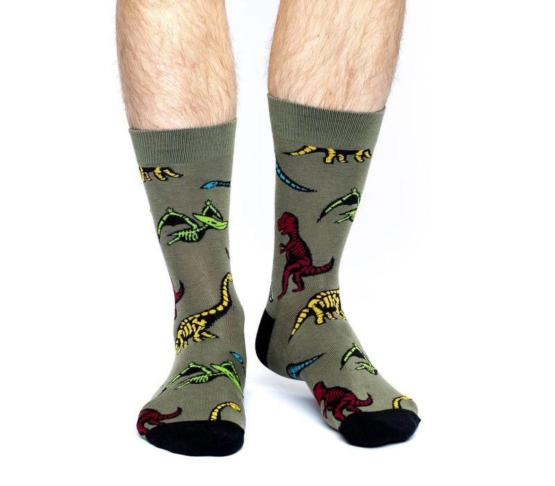 Men's Dinosaur Skeletons Socks