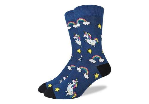 Good Luck Sock Men's Unicorns Socks