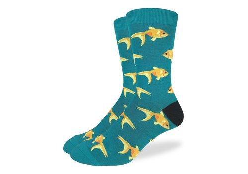 Good Luck Sock Men's Goldfish Socks