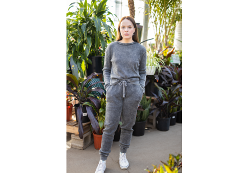 RD Style Thermal Acid Wash Joggers