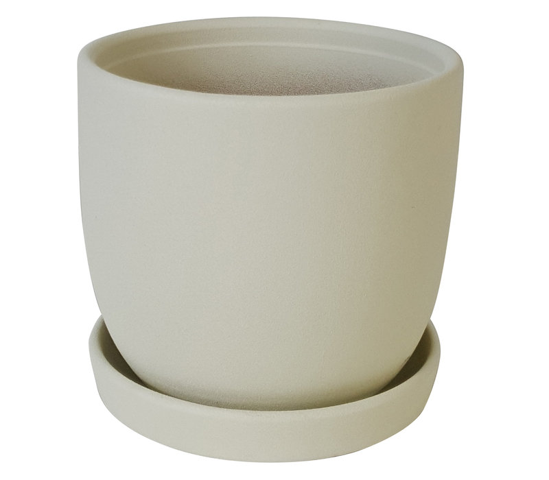 Chatham Egg Pot With Saucer