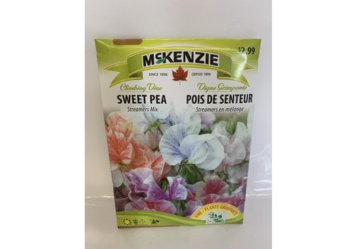 McKenzie Sweet Pea Streamers Mix