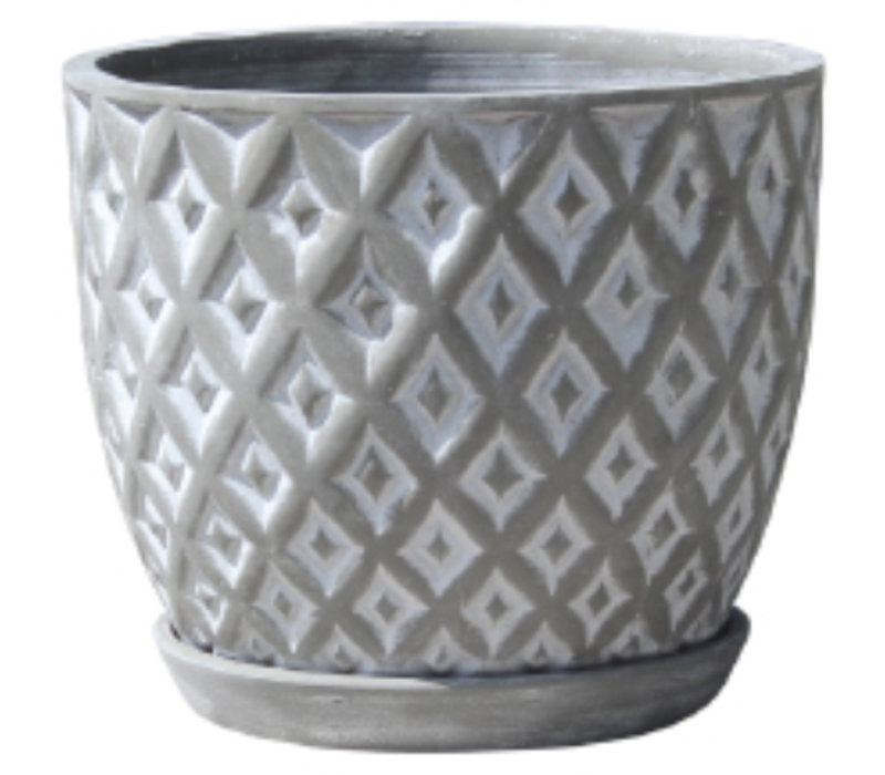 Diamond Egg Pot