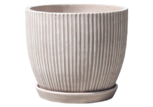 Lined Egg Pot