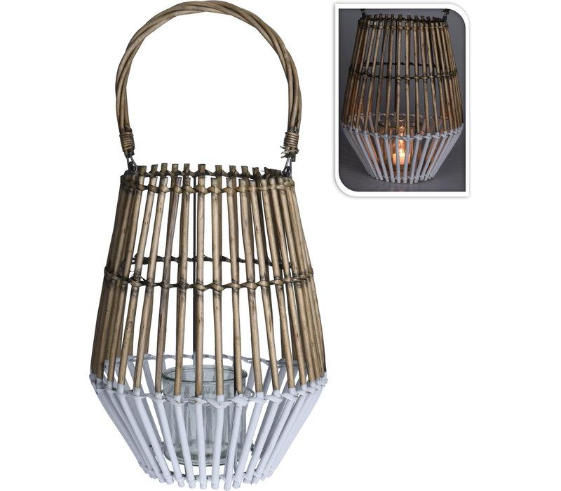 Willow Lantern 27x35cm