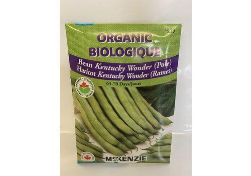 McKenzie Bean Kentucky Wonder (P) Organic