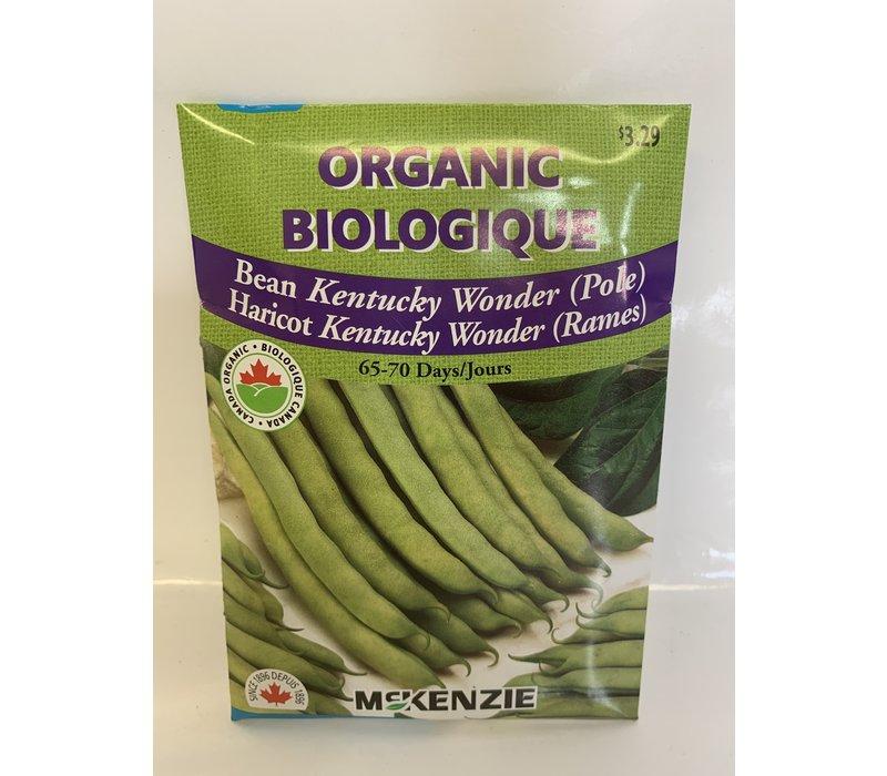 Bean Kentucky Wonder (P) Organic