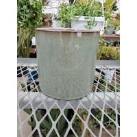 Flower Pot Reactive Glaze