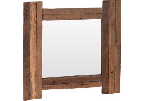 Reclaimed Teak Mirror 48x50cm