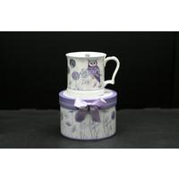 Owl Straight Mug In Gift Box