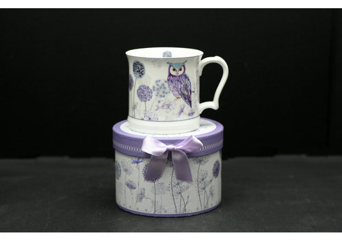 Owl Straight Mug In Gift Box