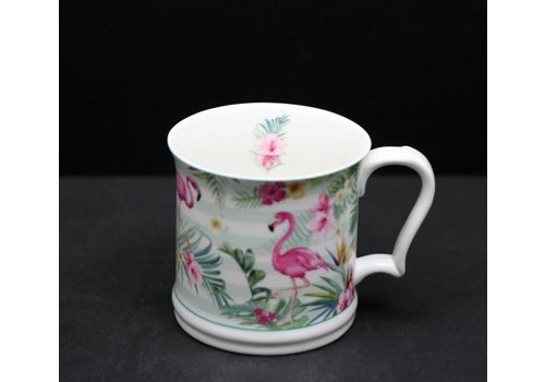 Flamingo Straight Mug In Gift Box