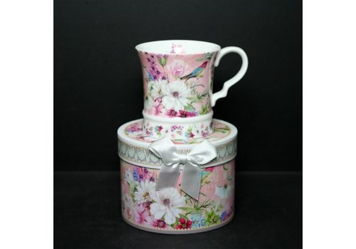 Flora New Bone China Mug With Gift Box