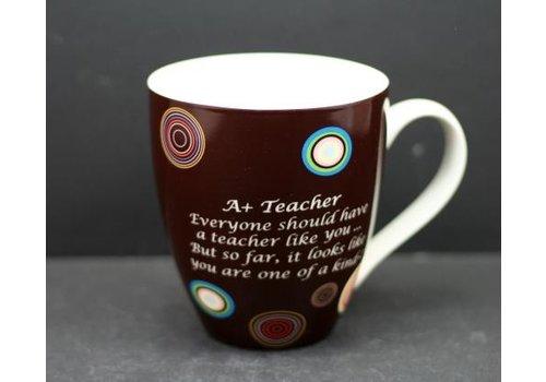 A+ Teacher New Bone China Mug