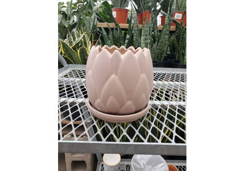 Border Concepts Artichoke Planter With Saucer