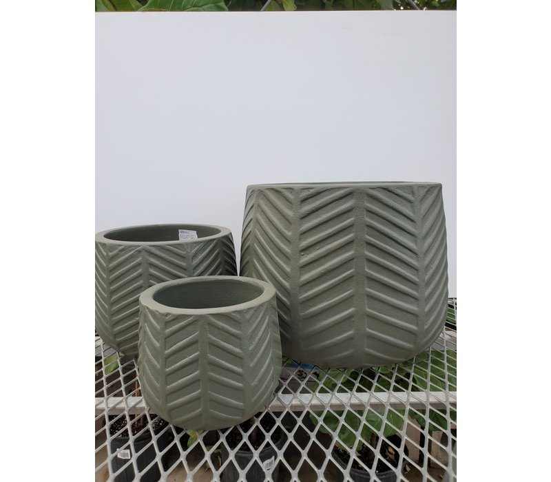Smooth Ceramic Planter