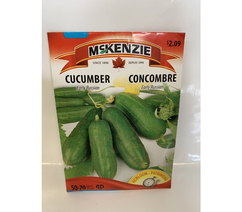 Cucumber Early Russian