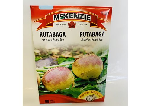 McKenzie Rutabaga American Purple Top