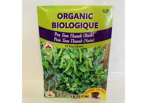 McKenzie Pea Tom Thumb (B) Organic