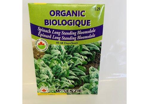McKenzie Spinach Bloomsdale Organic